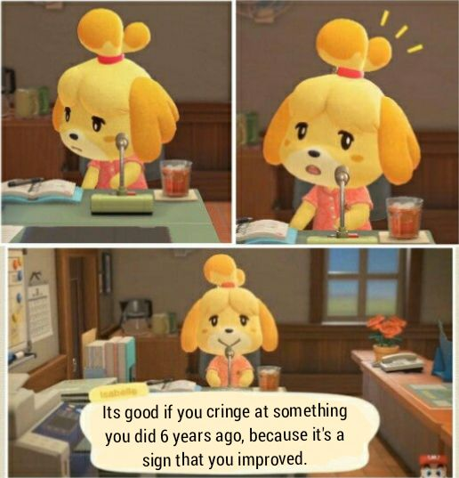 Isabelle S Words Of Wisdom Day 1 Memes Memesociety Funny Animal Crossing Memes Animal Crossing Funny Animal Crossing