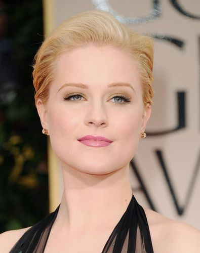 Evan Rachel Wood at Golden Globes 2012.