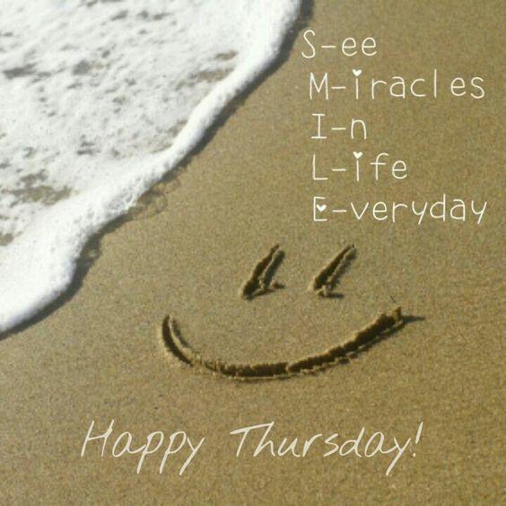 Smile Happy Thursday