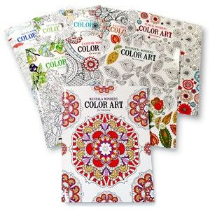 Ultimate Color Art Coloring Book Value Pack