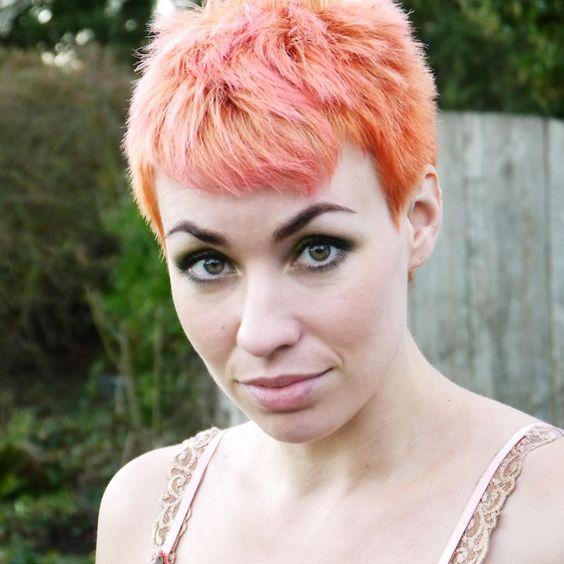 Orange sherbert, Colors and Manic panic on Pinterest