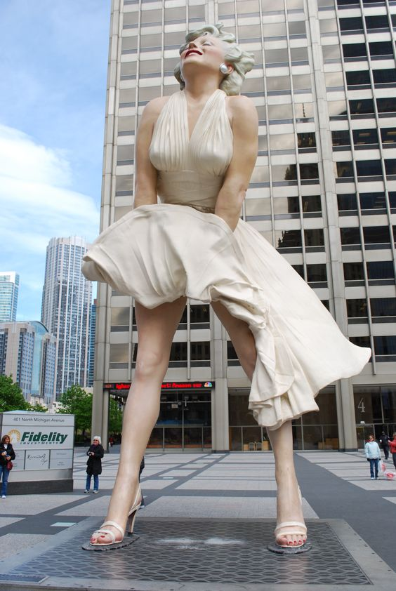 Marilyn Monroe. Seven Year Itch, right?