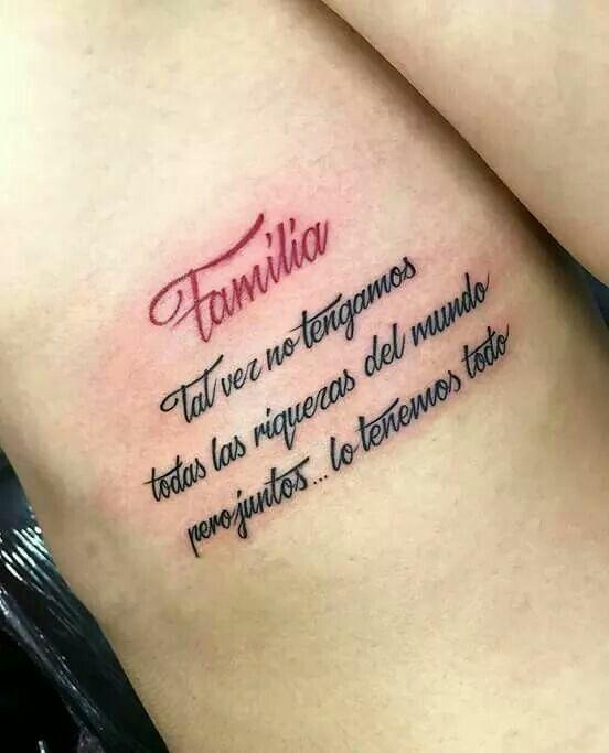 Pin De Angelica Montes En Tatuajes Frases Para Tatuajes Hombres Tatuajes De Familia Nuevos Tatuajes