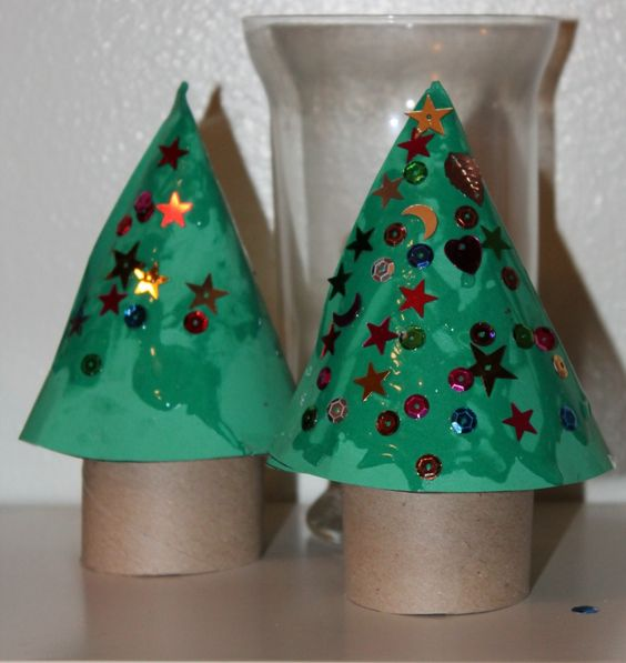 Christmas Tree Craft is an oldie but goodie: