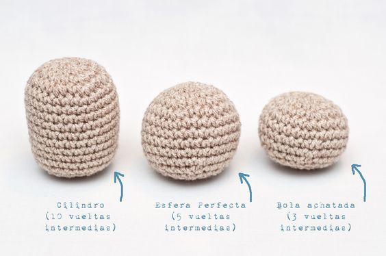 Patrones amigurumi finales and tutoriales on pinterest - Bolas de ganchillo ...