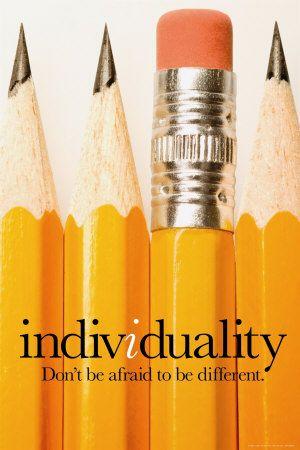 Individualité Affiche