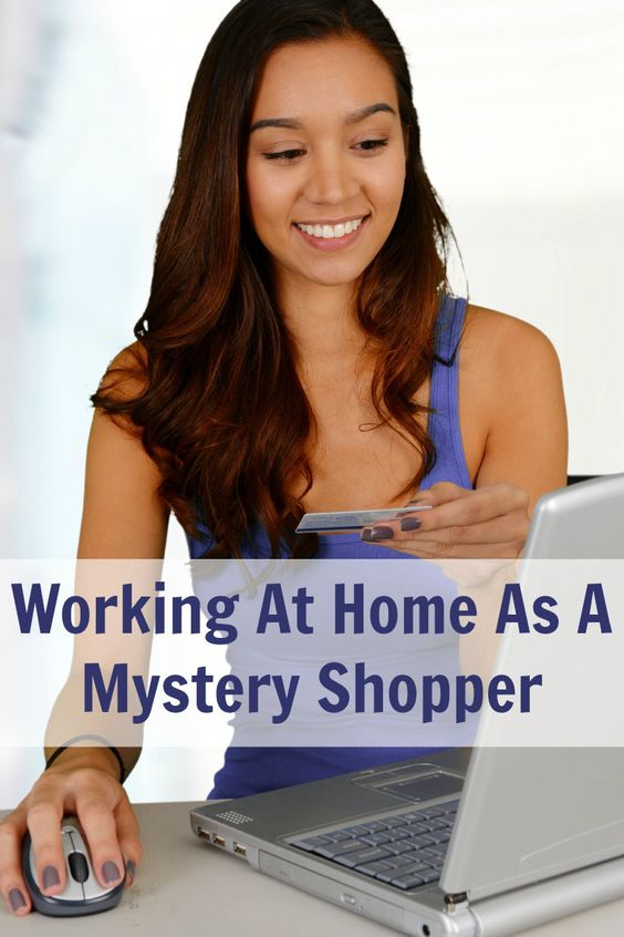 Working At Home As A Mystery Shopper