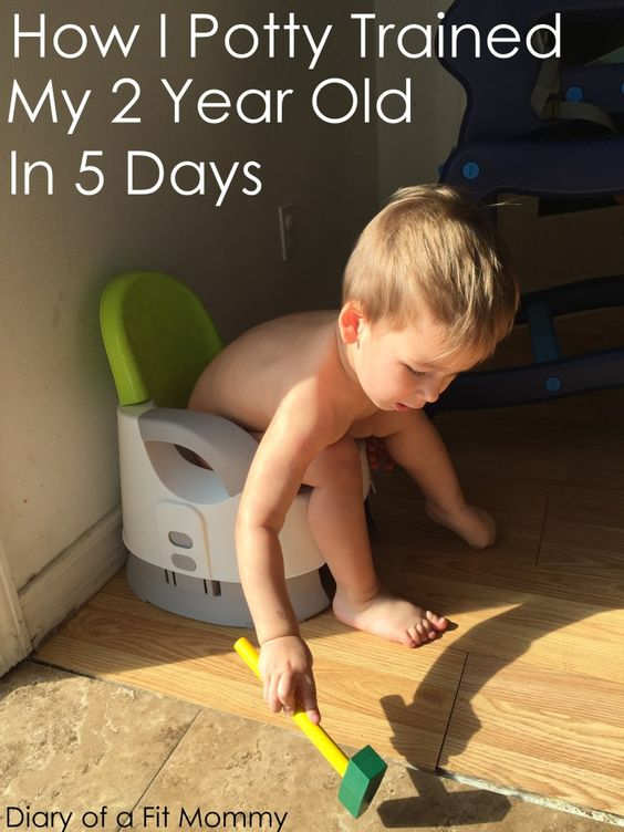 Diary of a Fit Mommy | How I Potty Trained My 2 Year Old Son in 5 Days