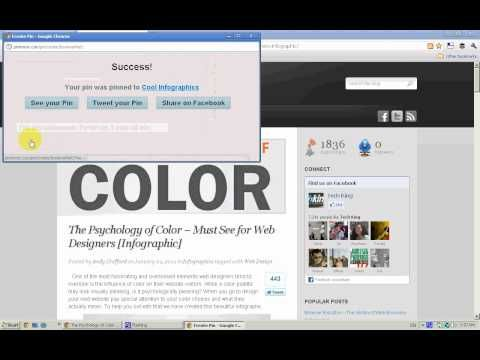 Great Video intro to #Pinterest