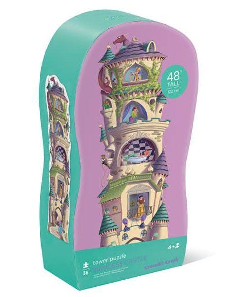 Crocodile Creek Puzzle Turm Prinzessinnenschloß - Bonuspunkte sammeln, auf Rechnung bestellung, DHL Blitzlieferung!