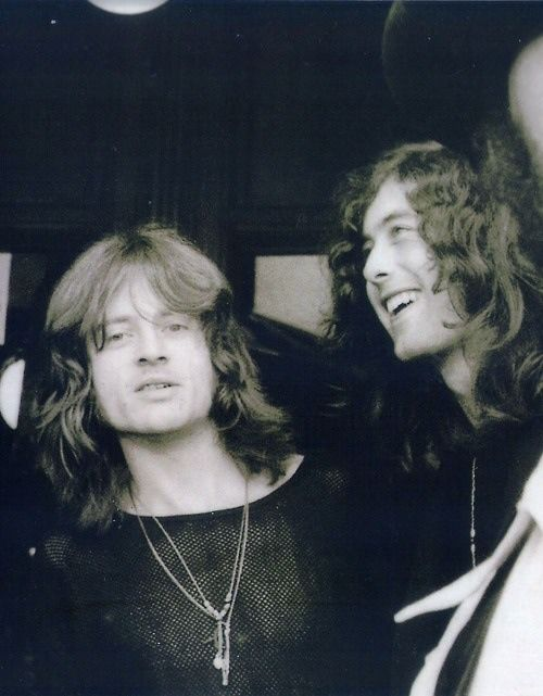 """""""I had more of a professional relationship, I suppose, with Jimmy. I saw him on the road, basically. I didn't see him much between tours and studios.""""  -Jonesy interview about his relationship with Jimmy Page-  Source: jpyenn"""