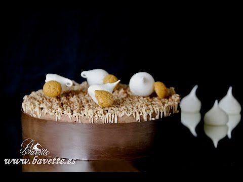 Mousse de mango y yogur con ganache de chocolate