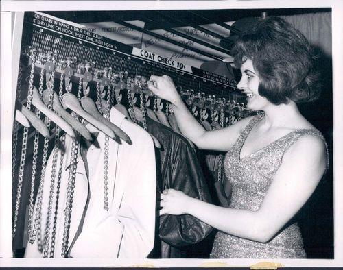 1966 Chicago coin-op coat check machine -- odd!