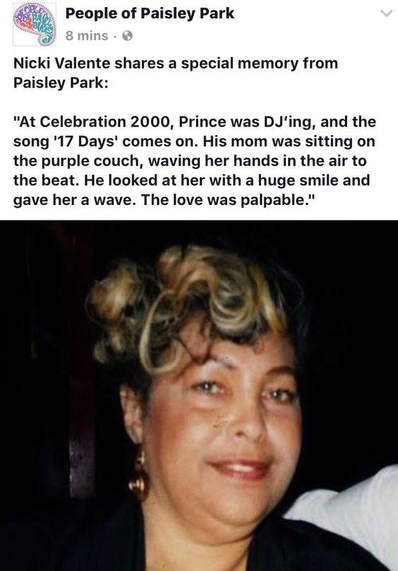 Prince's mom