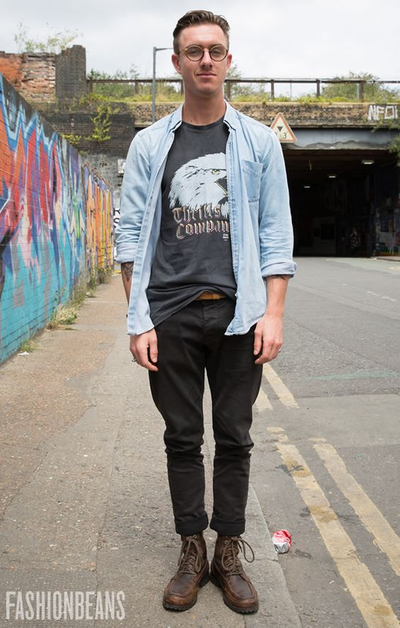 Nathan's Style | Street Style Photos at FashionBeans.com