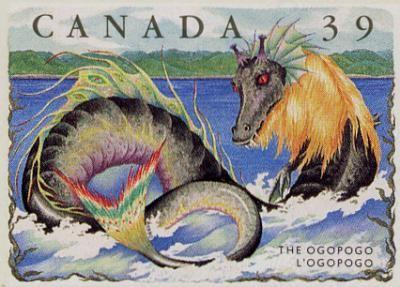 Ogopogo.  Des monstres marins dans les eaux canadiennes?Qui n'a pas entendu parler dans sa jeunesse du célèbre monstre du Loch Ness? L'histoire de cette créature mythique surnommée Nessie provient de l'Écosse, mais se pourrait-il qu'elle ait un équivalent canadien...