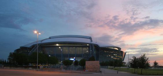 "Dallas Cowboys football stadium - HKS Architects chose Adair Dolomitic Limestone for this monumental project located just outside of Dallas, Texas.  The project utilizes various Adair Limestone units like landscaping pavers, split face and dressed 4"" veneer stone units. Visit www.arriscraft.com for more details"