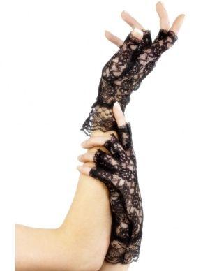 Vingerloze Kanten Handschoenen