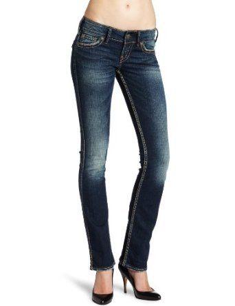 Silver Jeans Women's Mckenzie Straight Leg Jean $69.99 - $85.50. Wish I could wear heels!