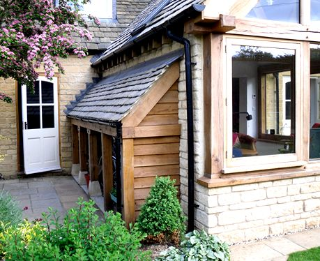 Bike shed that looks stunning and in keeping with the for Side storage shed