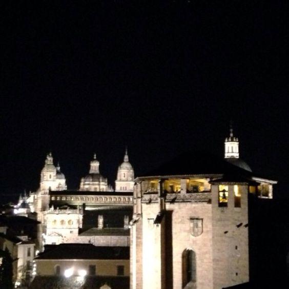 Salamanca monumental de noche