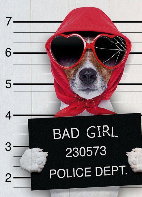 Quadro Bad Girl - John Lemon