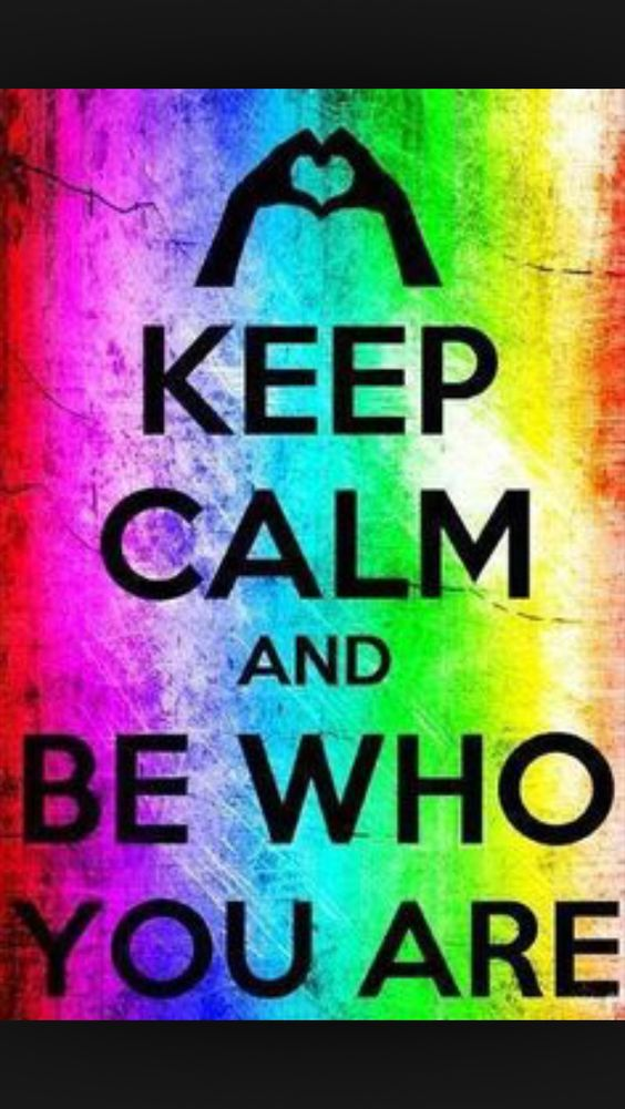 #keepcalm #beyourself Don't be another person .