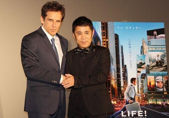 映画「LIFE!」のジャパンプレミアに出席岡村隆史さん