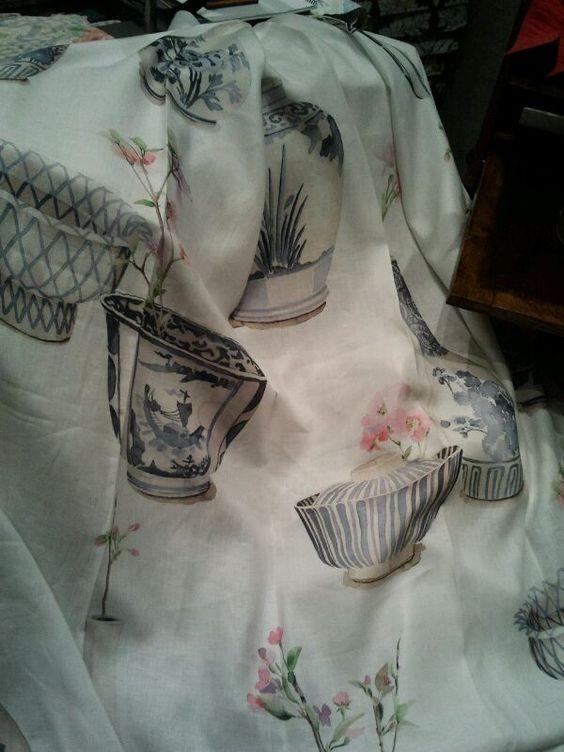 Telas para tapizar para realizar estores cortinas - Telas inglesas para tapizar ...
