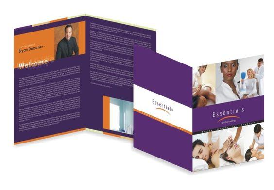 Bi fold 4 panel u003eu003e Beauty \ Fitness Brochure Brochure Design - fitness brochure