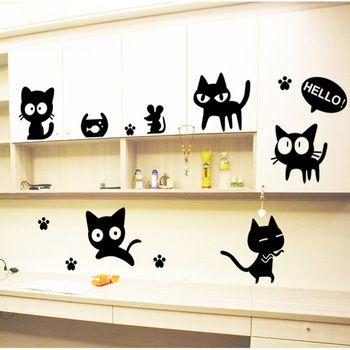 Dibujos blanco y negro para pared buscar con google me El gato negro decoracion