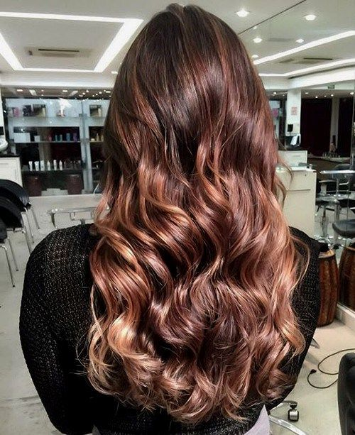 Tortoiseshell with caramel ,subtle chocolate ombre hair