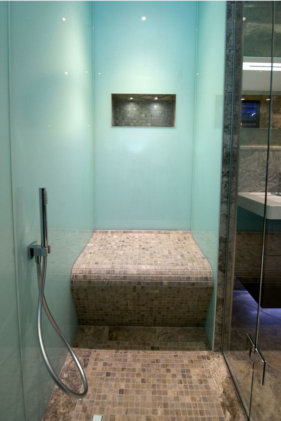 A modern and easy to install shower wall panel are
