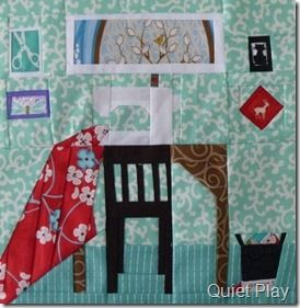 A Quiet Play Sewing Room