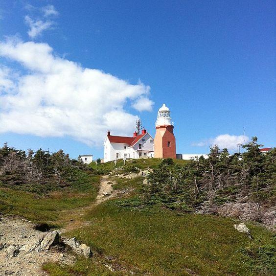Long Point Lighthouse Crow Head #newfoundland