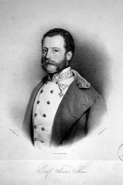 Datei:Franz Thun-Hohenstein Litho.JPG