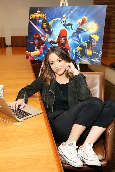 Chloe Bennet Photos - 'Marvel's Agents of S.H.I.E.L.D.' Actress Chloe Bennet Celebrates 'Women of Power'  - Zimbio