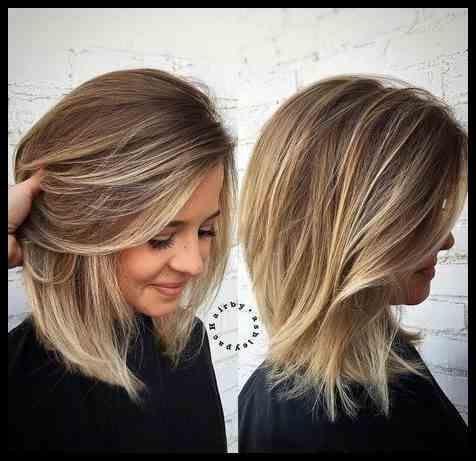 Herbst Schulter Lnge Frisuren Frisuren 2019 Damen Frisuren In 2020 Haircut For Thick Hair Medium Length Hair Styles Medium Hair Styles