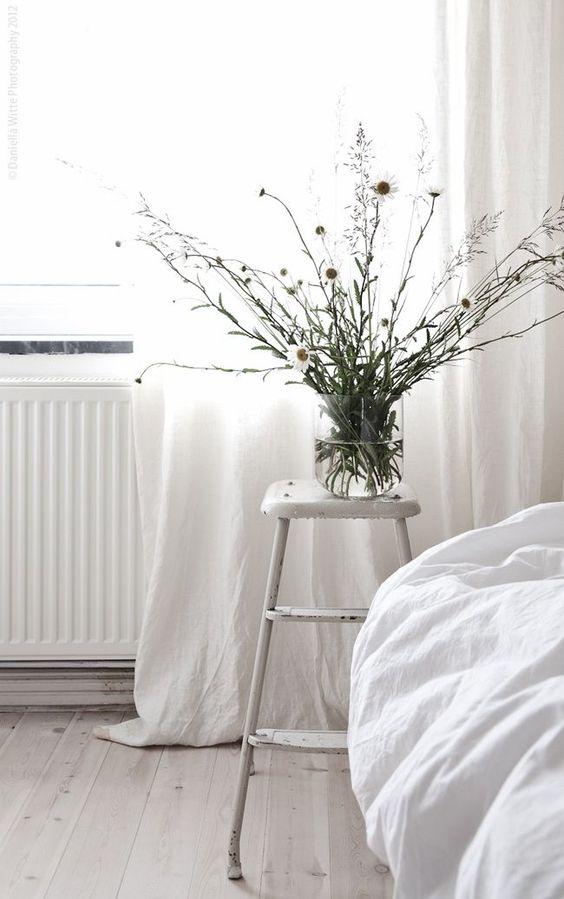simple #white bedroom
