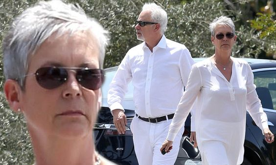 Jamie Lee Curtis and husband [Christopher Guest] look like a perfect match in all-white