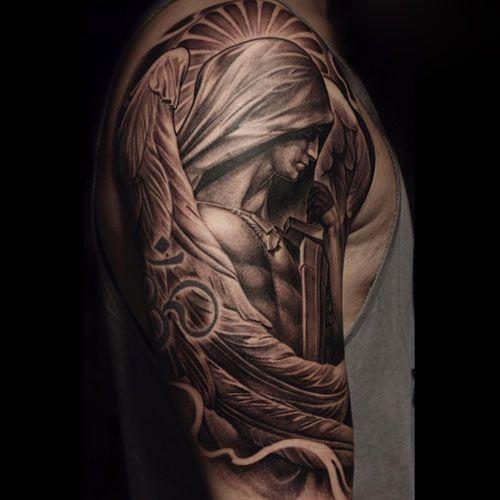 101 Best Shoulder Tattoos For Men Cool Designs Ideas 2019 Guide Mens Shoulder Tattoo Cool Shoulder Tattoos Front Shoulder Tattoos