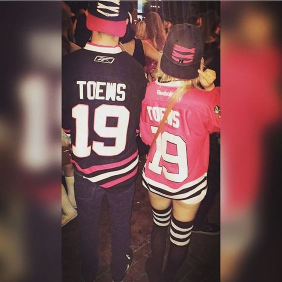 Perfect Pair.. Lacer: Chicago Blackhawks Lacers PC: @samanthalee90