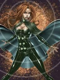 Siryn-Ela é uma mutante filha do falecido X-Man Sean Cassidy.Ela apareceu primeiramente na revista da Mulher-Aranha e logo depois foi incorporada a revistas ligadas aos X-Menpossui os mesmos poderes mutante que seu pai, Sean Cassidy (Banshee).Grito Super-Sonico,Audiocinese,Vigor Sonoro...