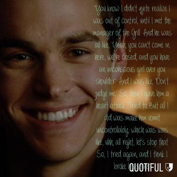 Kai TVD the vampire diaries quotes funny