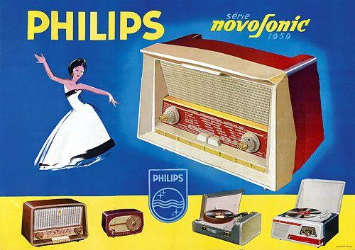 Philips Novosonic Radios c. 1959  http://www.vintagevenus.com.au/vintage/reprints/info/PR441.htm