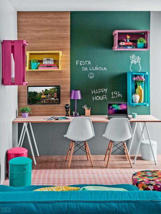 50 ideias de decoração de home office | Estilo: