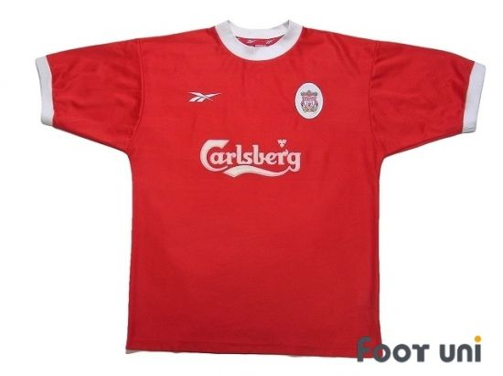 Liverpool 1998 2000 Home Shirt In 2020 Vintage Football Shirts Retro Football Shirts Soccer Shirts
