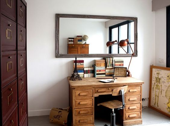 ...I'll treat my desk like this.