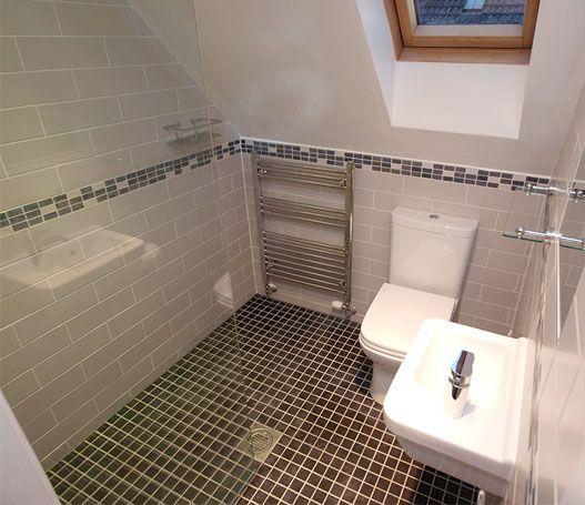 Small Bathroom Design Under Stairs: Small Bathroom Design Wet Room