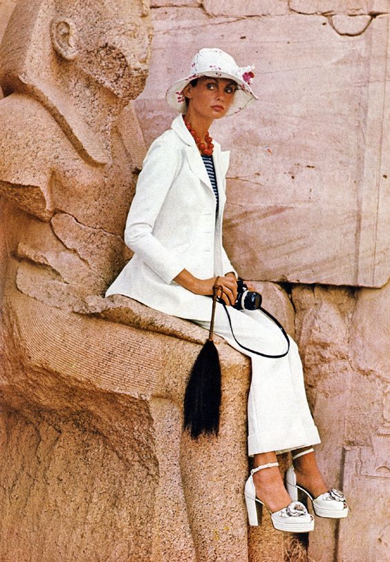 Photographed by Bailey. Vogue, January 1972